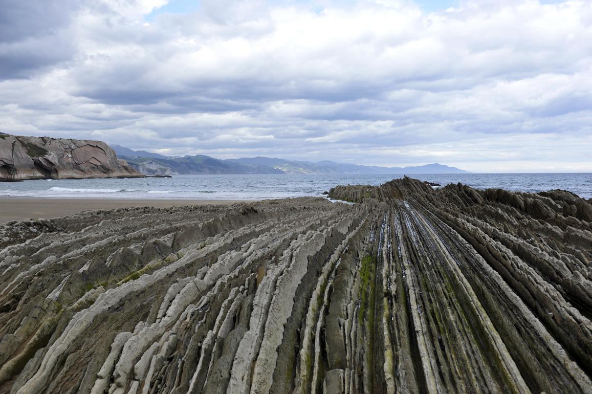 Flysch-Felsen | Baskenland